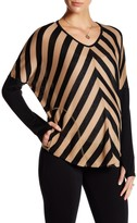 Everly Grey Maternity Hurst Striped Sweater (Maternity)