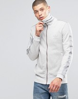 adidas Noize Track Jacket In Gray AY9268