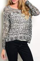 Adore Clothes & More Grey Sweater