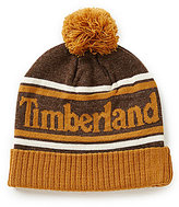 Timberland Color Block Watchcap with Pom