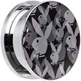 "Playboy 7/8"" Officially Licensed Black Gray Bunny Screw Fit Plug (1 Piece)"