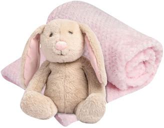 The Little Linen Company Plush Toy & Blanket - Ballerina Bunny