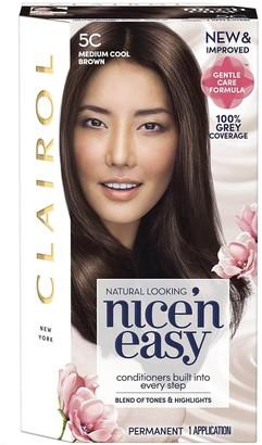 Clairol Nice 'N Easy Medium Cool Brown Permanent Hair Colour 5C