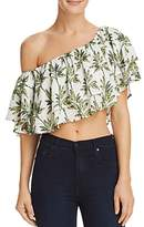 Show Me Your Mumu Hayworth Off-the-Shoulder Ruffled Crop Top - 100% Exclusive