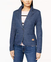 Tommy Hilfiger Frayed Two-Pocket Blazer, Created for Macy's