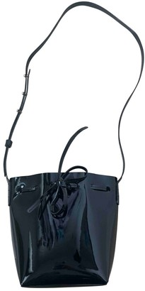 Mansur Gavriel Bucket Black Patent leather Handbags