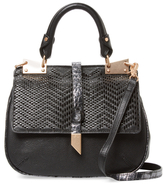 Foley + Corinna Dione Small Leather Saddle Crossbody