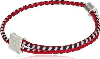 Alex and Ani Hope Rope Red White Blue Bangle Bracelet