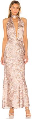 L'Academie The Nina Midi Dress