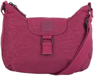 Artsac Womens Zip Top Flap Fastening Shoulder Bag Shoulder Bag Black (Black)