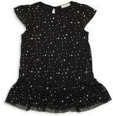 Soprano Girl's Printed Ruffled Dress