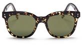 Victoria Beckham 'The VB' tortoiseshell effect acetate square sunglasses
