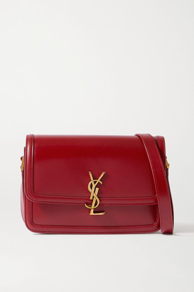 Saint Laurent Solferino Medium Leather Shoulder Bag