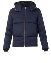 Balenciaga Hooded down jacket