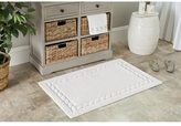 Safavieh White Cable Plush Bath Mats (27 x 45) (Set of 2)