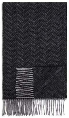 Bloomingdale's The Men's Store at Cashmere Herringbone Scarf - 100% Exclusive