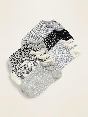 Old Navy Novelty Ankle Socks 6-Pack for Women