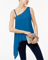 INC International Concepts Popsicle One-Shoulder Top, Created for Macy's