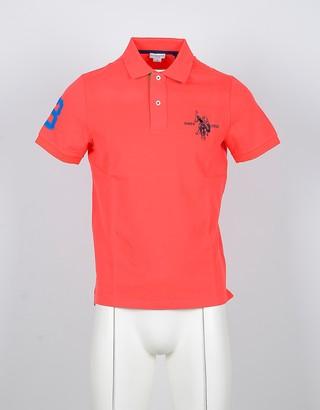 U.S. Polo Assn. Mandarin Cotton Men's Polo Shirt