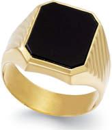 Macy's Men's Onyx (3-3/4 ct. t.w.) Ring in 14k Gold