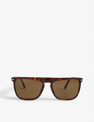 Persol PO3225 square-frame Havana sunglasses