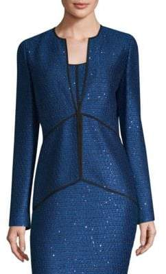 St. John Luster Sequin-Knit Jacket