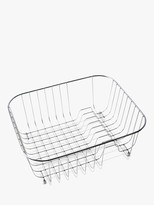 Clearwater Tango Kitchen Sink Basket Dish Rack, Stainless Steel