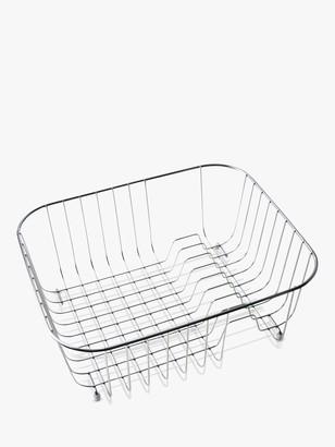 Clearwater Tango Kitchen Sink Basket Dish Rack, Stainless Steel