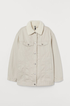 H&M Lined twill jacket