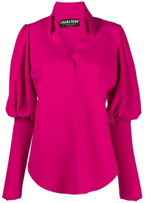 Le Petite Robe Di Chiara Boni Puff-Sleeve Blouse