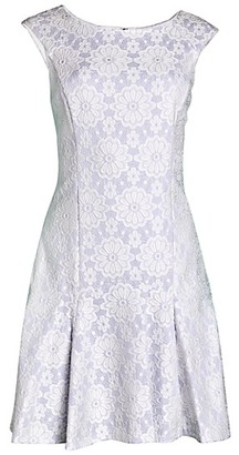 Nanette By Nanette Lepore Lace Cap-Sleeve Dress
