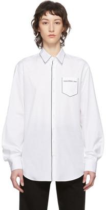 DSQUARED2 White Relax Dan Shirt