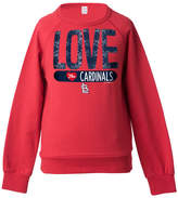 5th & Ocean St. Louis Cardinals Sequin Raglan Sweatshirt, Girls (4-16)