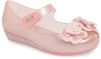 Mini Melissa Ultra 11 Mary Jane Wedge Flat (Toddler)