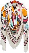 Fendi printed scarf