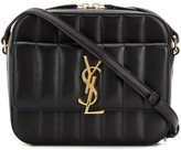 Saint Laurent Vicky quilted crossbody bag
