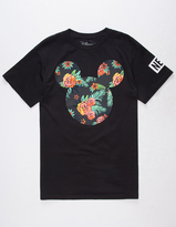 Neff Disney Collection Astro Floral Mickey Mens T-Shirt