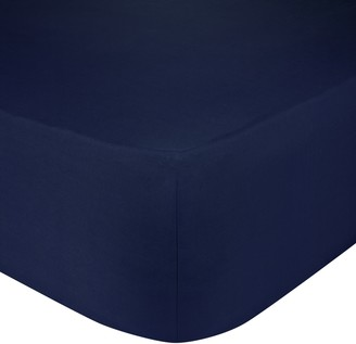 John Lewis & Partners Crisp and Fresh 200 Thread Count Egyptian Cotton Standard Fitted Sheet