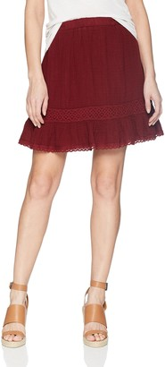Michael Stars Women's Double Gauze Peasant Skirt