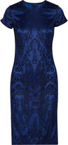 Catherine Deane Bette embroidered silk-blend tulle dress