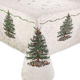 "Spode Tree Square Christmas Tree Tablecloth - 52"" x 52"""