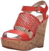 French Connection Women's Devi Wedge Sandal,40.5 EU/9.5 M US