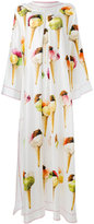 Dolce & Gabbana ice cream print dress - women - Silk - 40