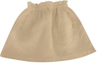 Paul & Joe Sister White Cotton Skirt for Women