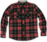 O'Neill Men's Glacier Fleece Plaid Shirt