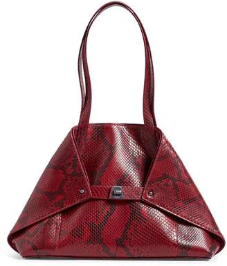 Akris Ai Leather Shoulder Bag