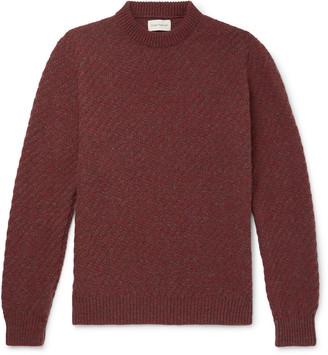 Oliver Spencer Blenheim Melange Wool Sweater