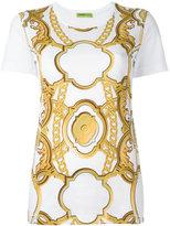 Versace printed T-shirt - women - Cotton - L