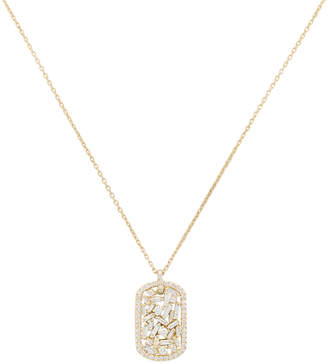 Suzanne Kalan Mini Dog Tag Necklace