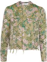 Marques Almeida Marques' Almeida Frayed brocade jacket